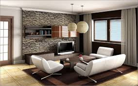 Wall Hanging For Living Room Living Room Design Ideas White Roof Natural Wall Stone Beige Wall