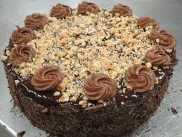 Decorated German Chocolate Cake Lesson 55 Icing The Chocolate Cakes Dessert O Licious