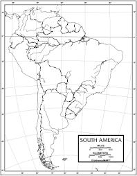 Latin America Outline Maps South America Outline Maps 0 Themechanicredwoodcity Com