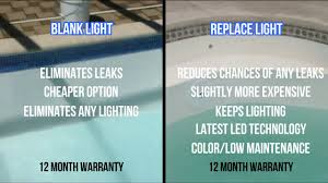 Pool Light Leak Repairing The Leak In Or Around Your Pool Light By Green Turtle Fiberglass