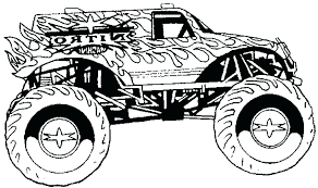 monster truck coloring pages printable free sheets for kids tonka truck coloring kid fire pages