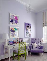 Purple Combination Interior Design