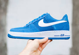 nike shoes air force blue. nike air force 1s blue with stars shoes