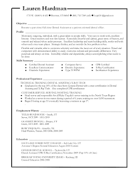 Lauren's Dental Resume 40 Simple Cpr Certification On Resume