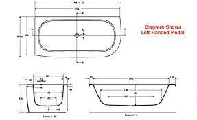 standard shower tub size. consider your standard bath tub dimensions - http://abirooms.com/standard shower size s