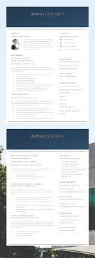 Creative Resume Template Modern Cv Word Cover Letter Www