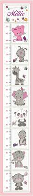 Embroidered Growth Chart Height Growth Chart Machine Embroidery Design