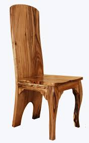 rustic dining room chairs. Solid Wood Chairs Natural Elegant Rustic Dining Room