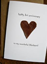 550 750 leather gifts for 3rd wedding anniversary leather card for him