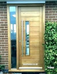 modern glass front door wooden front door doors modern oak with glass modern front doors wooden