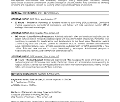 Resume Sample Nursing Graduates Cover Letter Examples Student ...