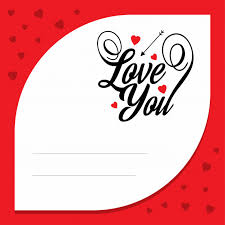 Love Letter Free Download Love You With Red Love Letter Vector Free Download