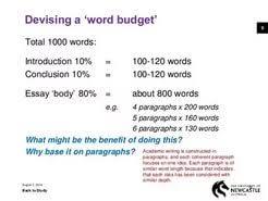 word essay  800 word essay