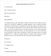Template College Recommendation Scholarship Of Letter – Rightarrow ...