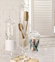 Decorative Things To Put In Glass Jars Mesmerizing Bathroom Glass Jars Modern Ideas What To Put In Home 21