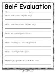 student conference form self evaluation form perfect student classroom layout tips for