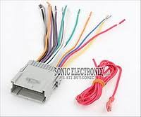 scosche gm02b wire harness to connect an aftermarket stereo Wiring Harness Adapter For Car Stereo Walmart Wiring Harness Adapter For Car Stereo Walmart #40 Radio Harness Adapter