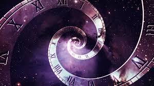 Time Travel Images Multiple Timelines Infinite Number Of Clocks In Spiral Formation