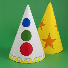 How To Make Halloween Cone Hats Halloween Crafts Aunt