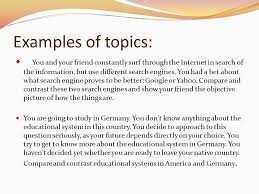 essay development comparison contrast ppt video online  examples of topics