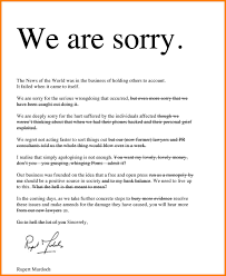 Letter Of Apology Example Apology Letter Format Choice Image Letter Format Example 8