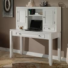 white desk home office. Writing Desk - Cottage White | Hayneedle Home Office