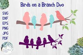 All contents are released under creative commons cc0. Free Birds On A Branch Duo Crafter File Free Bird Silhouette Svg