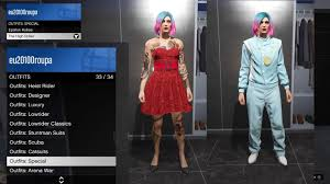 Gta 5 Designer Outfits When You Change Outfits There Is A Section Called Special