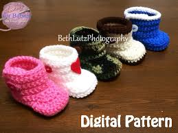 Crochet Baby Booties Pattern 3 6 Months Adorable 4848 Months Crochet Pattern Crochet Baby Boots Booties