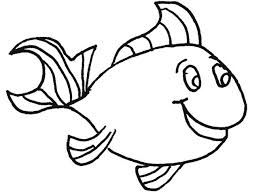 Fish Templates Free Premium Small Outline Printable Coloring