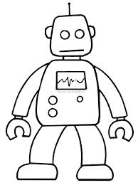 Scarica E Stampa Immagini Robot Da Colorare Disegni Da Colorare