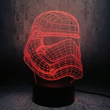 Knight Light Lamp Us 3 93 20 Off Star Wars Storm Knight Mode Usb 3d Led Lamp Floodlights Colorful Gradient Night Light Starry Lights For Kids Toys Creative Gift In