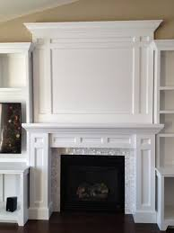 diy built in fireplace surround