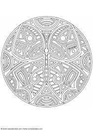 Disegno Da Colorare Mandala Farfalla Cat 18716 Images