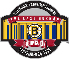 Boston Bruins Stadium Logo - National Hockey League (NHL) - Chris ...