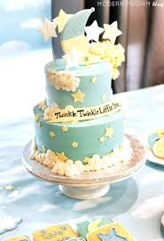 Twinkle Little Star Baby Shower Cake Ideas Simple For A Girl Awesome
