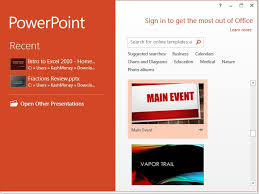 Ms Office 2013 Powerpoint Templates Ms Office 2013 Powerpoint Tutorial The Basics