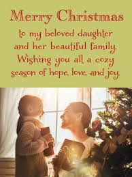Rekindle your relationship with your family and loved one. Merry Christmas Wishes For Daughter Her Family Birthday Wishes And Messages By Davia