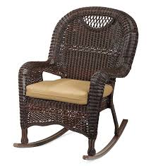 brown wicker outdoor rocking chairs chair tips