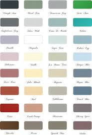 Paint Colors In 2019 Paint Color Chart Painted Furniture