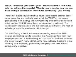 describe your career goals mba essay define your mba goals before   ace the mba career goals essay gradschools com
