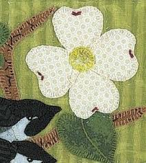 26 best Dogwood quilts images on Pinterest | Beautiful, Embroidery ... & Quilt Block | Birds on a Dogwood Branch Pattern | Sewing Crafts — Country  Woman Magazine Adamdwight.com