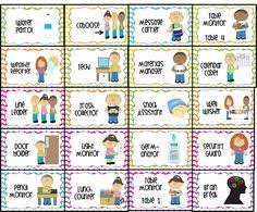1000 Ideas About Classroom Jobs Free On Pinterest Classroom