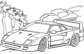 Small Picture Ferrari F40 Cars Colouring Page Colouring Tube