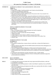 Product Manager Resume Pdf Project Manager Skills And Competencies Pdf Marketing Product Resume