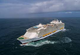 the symphony of the seas from royal caribbean which was voted the best cruise line