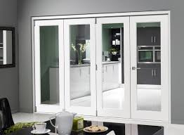 Finesse White 3m (approx 10ft) Internal Bifold Doors - with bottom track