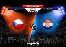 يلا شوت مشاهدة مباراة كرواتيا والتشيك بث مباشر بدون تقطيع