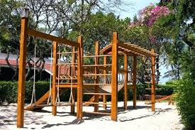 build playset plans free swing set for your kids fun backyard play area 1 build your own wooden playset plans free