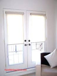 glass insert with blinds for door astounding french blind inserts miniso info decorating ideas 19